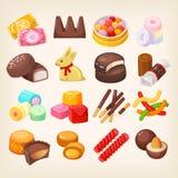 καθορισμένα γλυκά διάφορ ελεύθερη απεικόνιση δικαιώματος