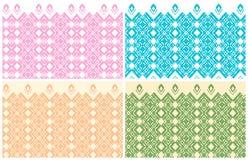 Καθορισμένα διανύσματα Όμορφο σχέδιο χρωματισμένα ελαφριά υπόβαθρα ελεύθερη απεικόνιση δικαιώματος