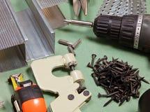 καθορισμένα εργαλεία ξη&r Στοκ εικόνες με δικαίωμα ελεύθερης χρήσης