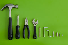 καθορισμένα εργαλεία Στοκ Φωτογραφία