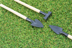 Καθορισμένα εργαλεία κηπουρικής Στοκ Φωτογραφίες