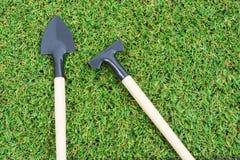 Καθορισμένα εργαλεία κηπουρικής Στοκ Εικόνα