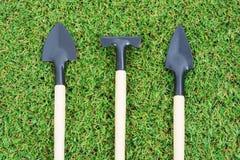 Καθορισμένα εργαλεία κηπουρικής Στοκ φωτογραφίες με δικαίωμα ελεύθερης χρήσης