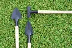 Καθορισμένα εργαλεία κηπουρικής Στοκ εικόνα με δικαίωμα ελεύθερης χρήσης