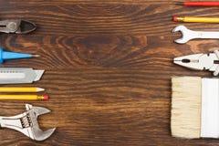 καθορισμένα εργαλεία κ&alp Στοκ εικόνα με δικαίωμα ελεύθερης χρήσης