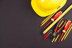 καθορισμένα εργαλεία κ&alp Στοκ φωτογραφία με δικαίωμα ελεύθερης χρήσης