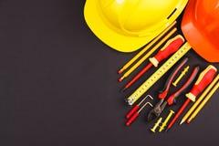 καθορισμένα εργαλεία κ&alp Στοκ φωτογραφίες με δικαίωμα ελεύθερης χρήσης