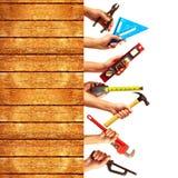 καθορισμένα εργαλεία κ&alp Στοκ εικόνες με δικαίωμα ελεύθερης χρήσης