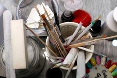 καθορισμένα εργαλεία μα Στοκ φωτογραφία με δικαίωμα ελεύθερης χρήσης