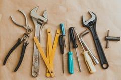 καθορισμένα εργαλεία χ&epsil Στοκ Εικόνα