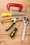 καθορισμένα εργαλεία χ&epsil Στοκ Φωτογραφία