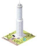 Καθορισμένα κτήρια κεραμιδιών Στοκ φωτογραφίες με δικαίωμα ελεύθερης χρήσης