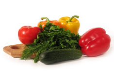 καθορισμένα λαχανικά Στοκ Φωτογραφία