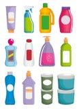 Καθορισμένα προϊόντα υπεραγορών με την ειδική προσφορά διανυσματική απεικόνιση