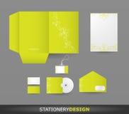καθορισμένα χαρτικά σχεδίου διανυσματική απεικόνιση