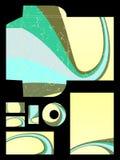 καθορισμένα χαρτικά διανυσματική απεικόνιση