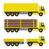 καθορισμένα truck Στοκ φωτογραφία με δικαίωμα ελεύθερης χρήσης