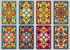 Καθορισμένες αναδρομικές κάρτες Στοκ Εικόνες