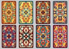 Καθορισμένες αναδρομικές κάρτες Στοκ Φωτογραφία