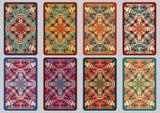 Καθορισμένες αναδρομικές κάρτες Στοκ Φωτογραφίες