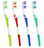 καθορισμένες οδοντόβουρτσες χρώματος Στοκ φωτογραφίες με δικαίωμα ελεύθερης χρήσης