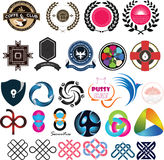 Καθορισμένη ένταση 01 λογότυπων Στοκ Φωτογραφία