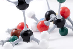 καθορισμένη δομή μορίων χημ Στοκ εικόνα με δικαίωμα ελεύθερης χρήσης