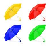 καθορισμένη ομπρέλα Στοκ εικόνα με δικαίωμα ελεύθερης χρήσης