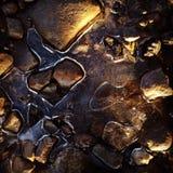 καθορισμένη πέτρα Στοκ Φωτογραφίες