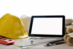 καθορισμένη ταμπλέτα οθόνης εικονιδίων υπολογιστών Στοκ εικόνα με δικαίωμα ελεύθερης χρήσης