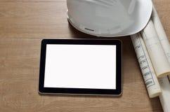 καθορισμένη ταμπλέτα οθόνης εικονιδίων υπολογιστών Στοκ Εικόνα