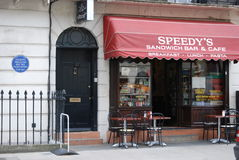 Καθορισμένη Sherlock οδός βόρειου Grover Στοκ Φωτογραφίες