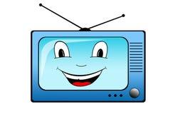 καθορισμένη TV Στοκ εικόνες με δικαίωμα ελεύθερης χρήσης