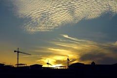 καθορισμένος ήλιος κατ&al Στοκ Εικόνες