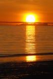 καθορισμένος ήλιος Στοκ Φωτογραφία