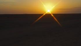 καθορισμένος ήλιος Στοκ εικόνες με δικαίωμα ελεύθερης χρήσης