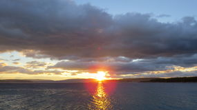καθορισμένος ήλιος της &Ka Στοκ Φωτογραφία
