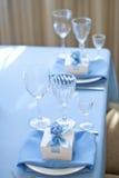 καθορισμένος επιτραπέζιος γάμος συμβαλλόμενων μερών γεγονότος Στοκ Φωτογραφίες
