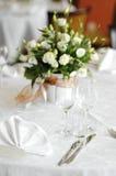 καθορισμένος επιτραπέζι&o Στοκ Εικόνες