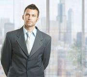 Καθορισμένος επιχειρηματίας στοκ εικόνες