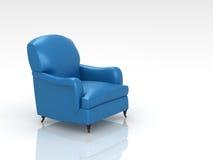 καθορισμένος καναπές καθιστικών δέρματος επίπλων Στοκ Εικόνες