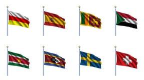 καθορισμένος κόσμος 22 ση&mu Στοκ Εικόνα