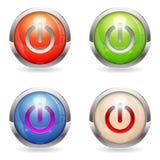Καθορισμένος σχολιάστε το κουμπί με το διακόπτη διανυσματική απεικόνιση