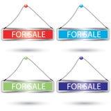 καθορισμένο διάνυσμα σημαδιών πώλησης απεικόνιση αποθεμάτων