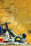 Καθορισμένο εργαλείο ξυλουργών πάγκων Στοκ εικόνες με δικαίωμα ελεύθερης χρήσης