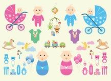 Καθορισμένο μωρό Στοκ φωτογραφίες με δικαίωμα ελεύθερης χρήσης