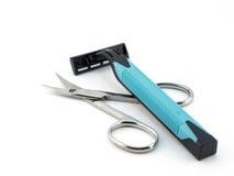 καθορισμένο ξύρισμα ψαλι&d Στοκ Εικόνα