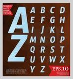 Καθορισμένο πολυ χρώμα αλφάβητου ύφους σχεδίου πηγών χαμηλό πολυ Στοκ εικόνα με δικαίωμα ελεύθερης χρήσης