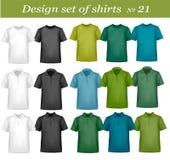 καθορισμένο πουκάμισο &sigm απεικόνιση αποθεμάτων