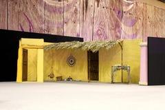 καθορισμένο στάδιο σπιτιών παραδοσιακό Στοκ φωτογραφία με δικαίωμα ελεύθερης χρήσης